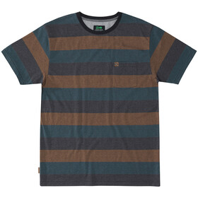 Hippy Tree Elmore Camiseta Hombre, heather rust